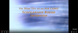 Scholarship Review Board Video - Alberta Air Cadet